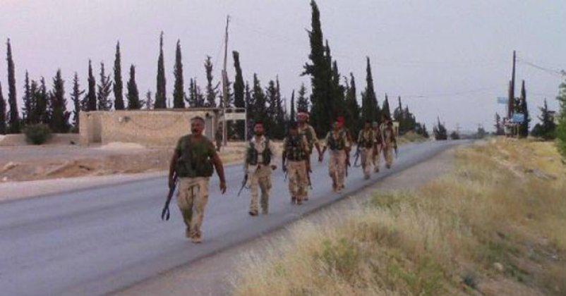 Menbiç'te IŞİD'e karşı operasyon sürüyor