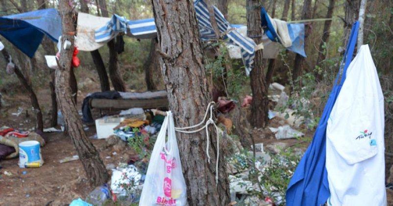 Ormanlık alanda cesedi bulundu