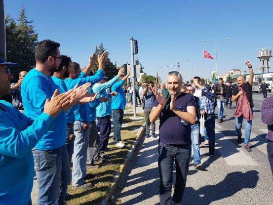 Taşeron işçileri Ne ÖSP, ne 4-e; güvenceli, kadrolu iş!