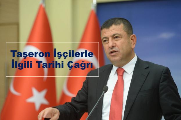 CHP'Ağbaba'dan Taşeron İşçilerle İlgili Tarihi Çağrı
