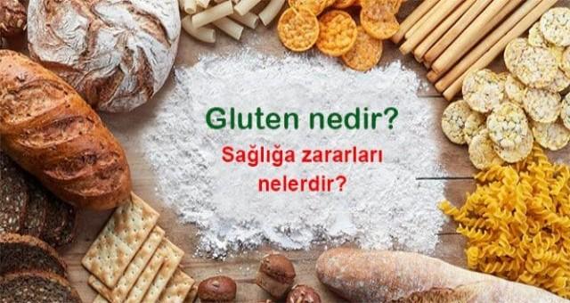 Gluten nedir ? Hangi yiyeceklerde bulunur ?