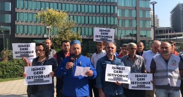 Üsküdar Belediyesi'nden onlarca işçi atıldı
