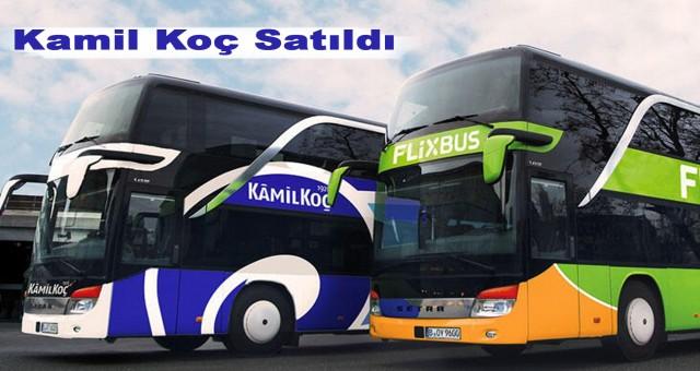 Türkiye'nin ilk otobüs firması Kamil Koç resmen satıldı!