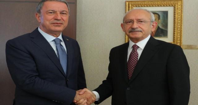 Hulusi Akar açıkladı: Akparti, Esad hükümeti ile görüşecek