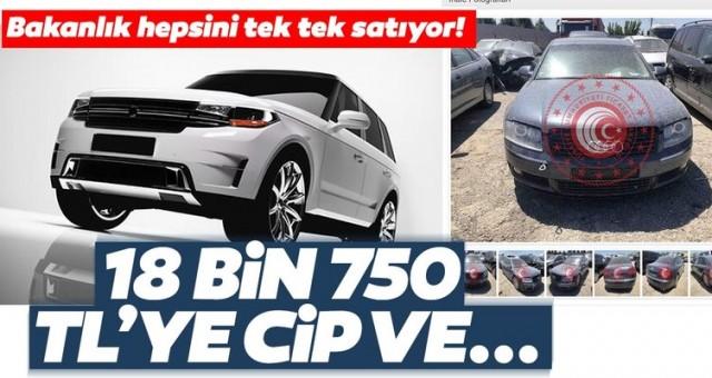 Ticaret Bakanlığı e-ihale ile satıyor! İşte satılık otomobiller ve fiyatları