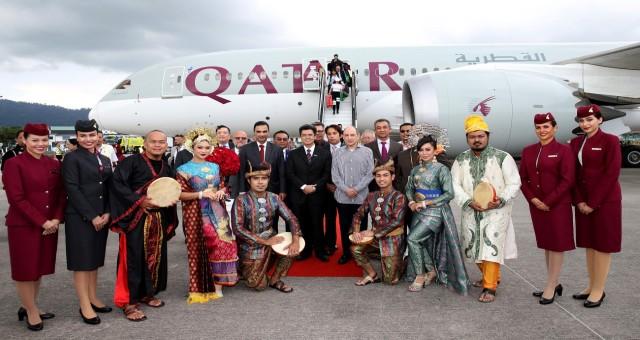 Qatar Airways yeni uçuş noktası Langkawi'ye uçuşlarını başlattı