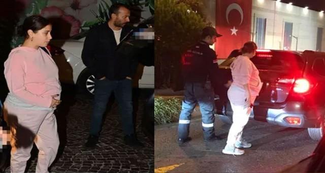Hazal Kaya-Ali Atay çifti Özel güvenlik kontrolüne takıldı