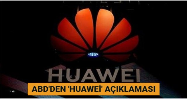 ABD Ticaret Bakanı Wilbur Ross'tan 'Huawei' açıklaması