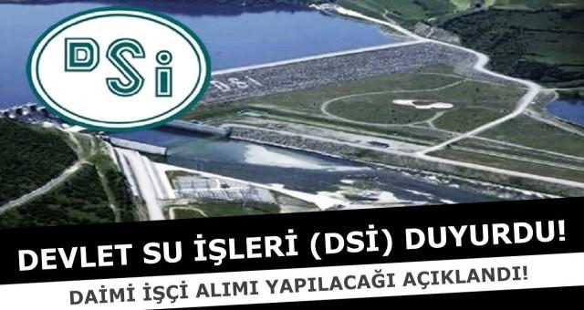 Devlet Su İşleri Genel Müdürlüğü 500 İşçi Alacak