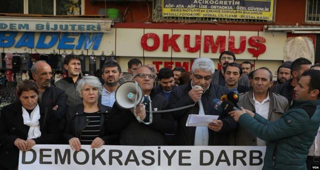 Diyarbakır'da Sendikalardan Kayyum Tepkisi