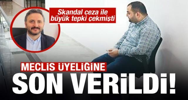 Tuvalet' cezası veren Veysel İpekçi'nin meclis üyeliğine son verildi