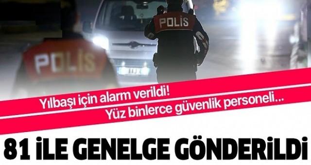 İstanbul'da yılbaşında 60 bin 716 güvenlik görevlisi görev yapacak