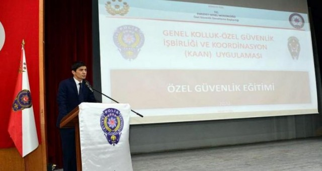 EGM'den 'Genel Kolluk Özel Güvenlik Koordinasyonu ve Entegrasyon Projesi
