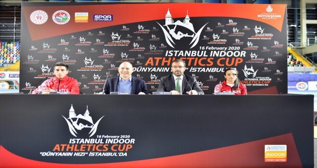 Atletizmin kalbi istanbul'da atacak'dünyanin hizi istanbul'da'