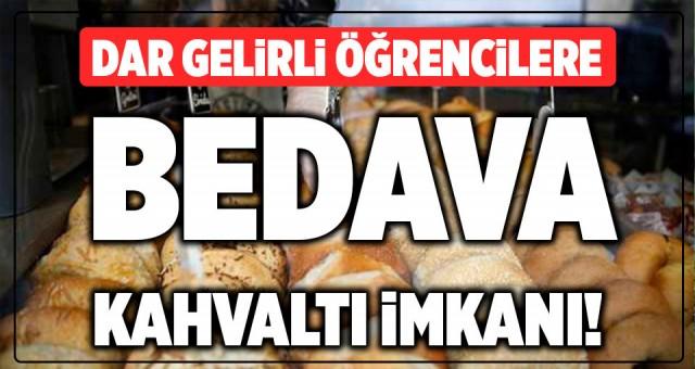 Ankara Büyükşehir Belediyesi'nden dar gelirli öğrencilere 'simit-kahvaltı kart' uygulaması