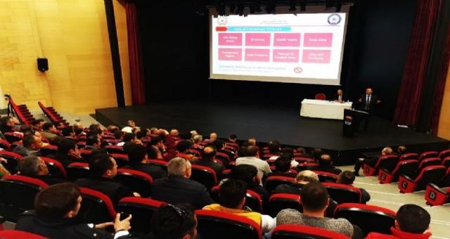 AAN projesi, Marmaris'te özel güvenlik personeline anlatıldı