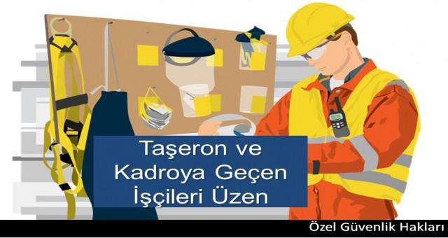 Taşeron ve Kadroya Geçen İşçileri Üzen Karar