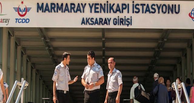Marmaray Özel Güvenlik corona 'ya takıldı