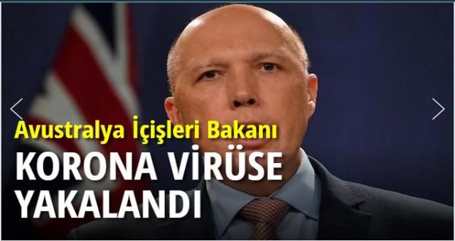 Avustralya İçişleri Bakanı Dutton koronavirüse yakalandı