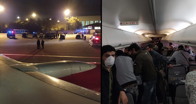 Türk işçileri taşıyan uçağın Bağdat'tan Türkiye'ye nasıl geldiği çözülemedi