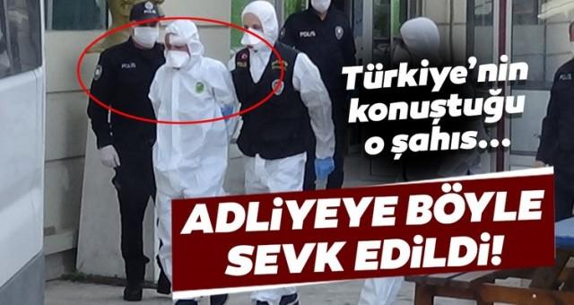 Türkiye'nin konuştuğu 2 güvenlik görevlisini bıçaklayan şahıslar, adliyeye böyle sevk edildi!