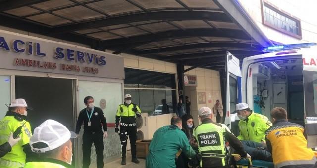 Bursa'da güvenlik görevlisi kadına silahlı saldırı