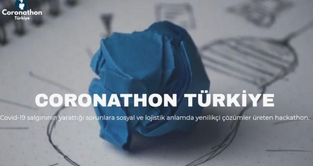 Coronathon Türkiye'den koronavirüsle mücadelede 12 yaratıcı proje