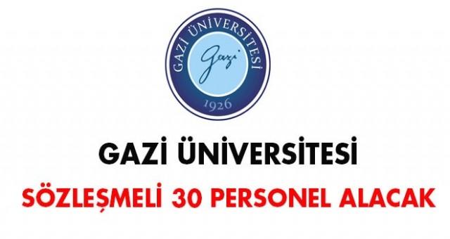 Üniversitesi sözleşmeli 30 personel alacak