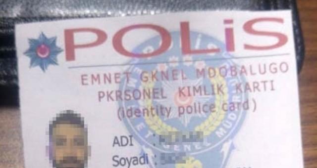 Sahte polis kimliği ile gasp yapan yabancı uyruklu çeteye operasyon