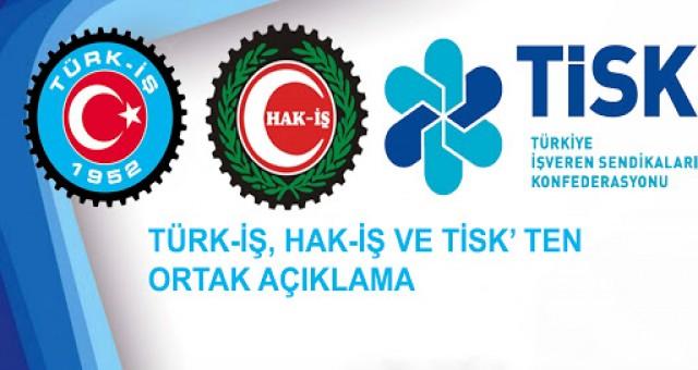 Türk-İş, Hak-İş ve TİSK'in çıkışı, sendikal harekette 'yeni normal'in işareti mi?
