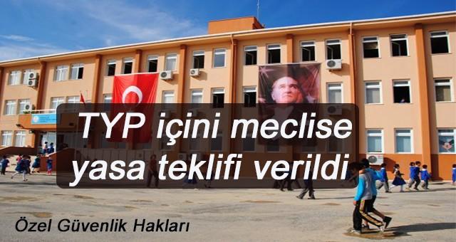 TYP çalışanları içini meclise yasa teklifi verildi