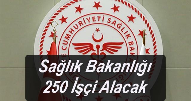 Sağlık Bakanlığı 250 İşçi Alacak İŞKUR hastanelere temizlik, güvenlik görevlisi başvuru şartları