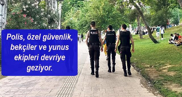 Maçka Demokrasi Parkı'nda sıkı güvenlik önlemler