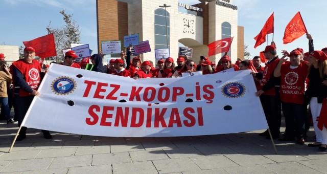 Tez-Koop-İş Samsun Şubesi: Örgütlü bir toplum yaratmak zorundayız