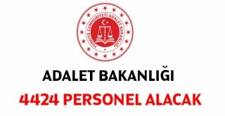 Adalet Bakanlığı çeşitli pozisyonlarda sözleşmeli 4 bin 424 personel alacak