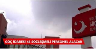Bir çok ilde Göç İdaresi 48 Sözleşmeli Personel Alacak