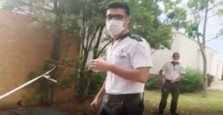 Tepe güvenlik  Özel güvenlik görevlisi talimatı yerine getirdi haksız oldu